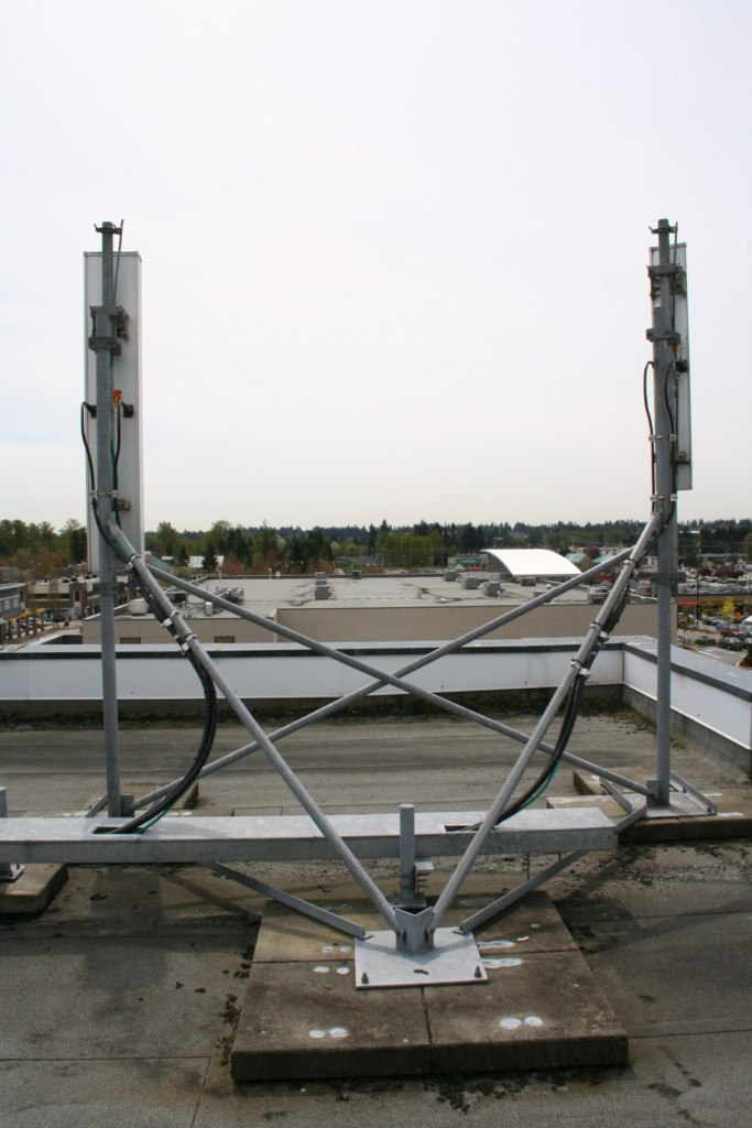 Antenna supports