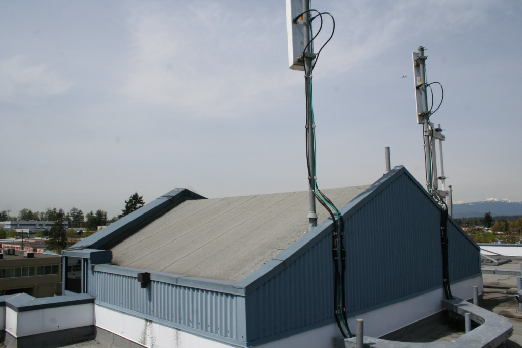 Raised antennas