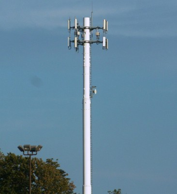 Example of a cell antenna tower
